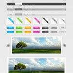 Free PSD Website GUI Elements