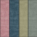 4 Colored Grungy Seamless Patterns