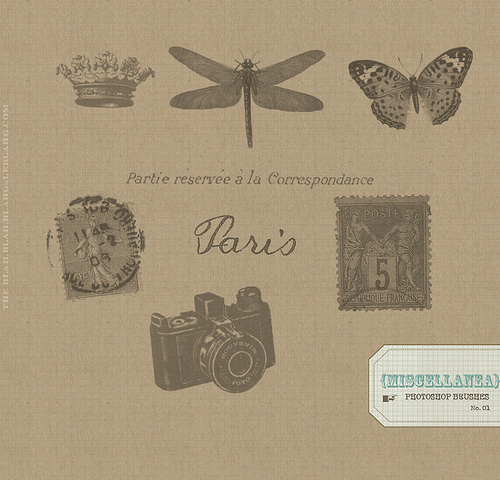 vintage_parisian_brushes for_photoshop
