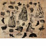 Victorian Fashion Set Brushes