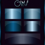 Gimp Gradients – Ocean Blue