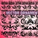 Vector Ornaments Shapes Clipart