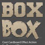 Cardboard Alpha Action