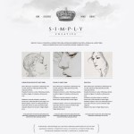 Free Vintage Web Template PSD