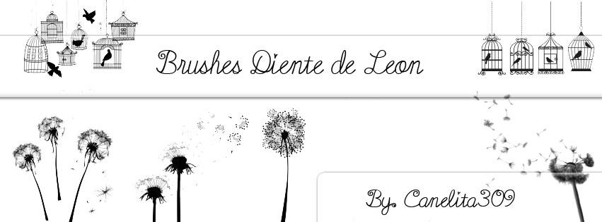 brushes_diente_de_leon_by_canelita309_by_sriitadewatt-d5wo67m