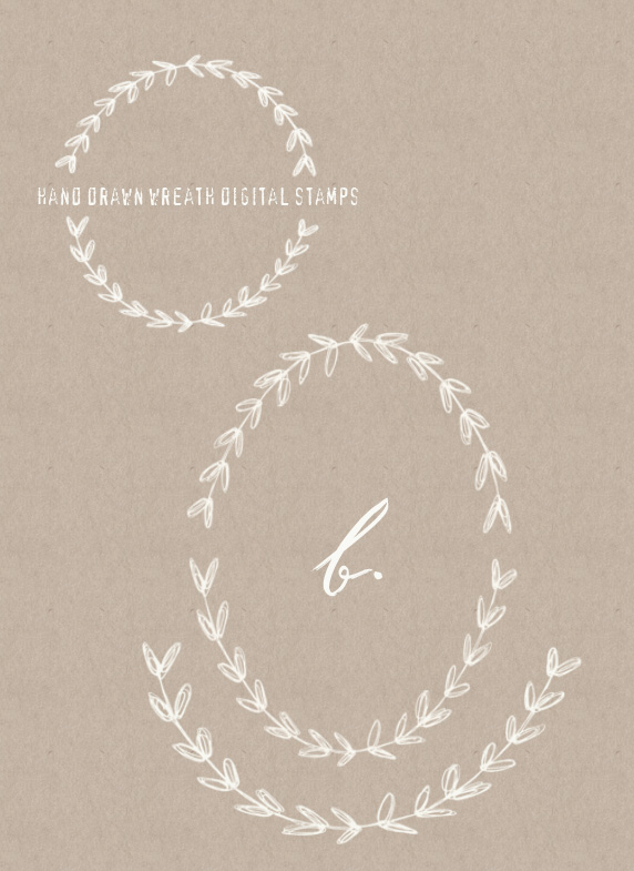 hand_drawn_laurel_wreaths_clip_art_images
