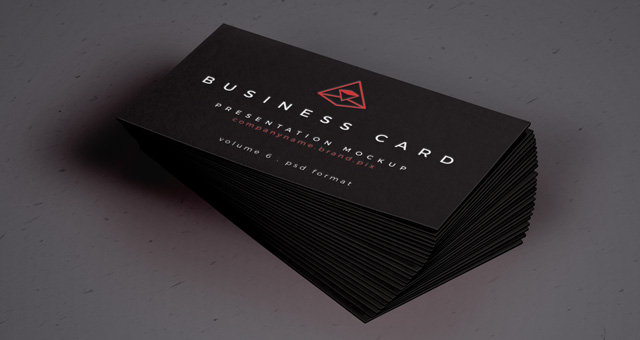 business card presentation template psd - business card mockup psd design share