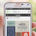 Samsung Galaxy S5 PSD Display MockUp