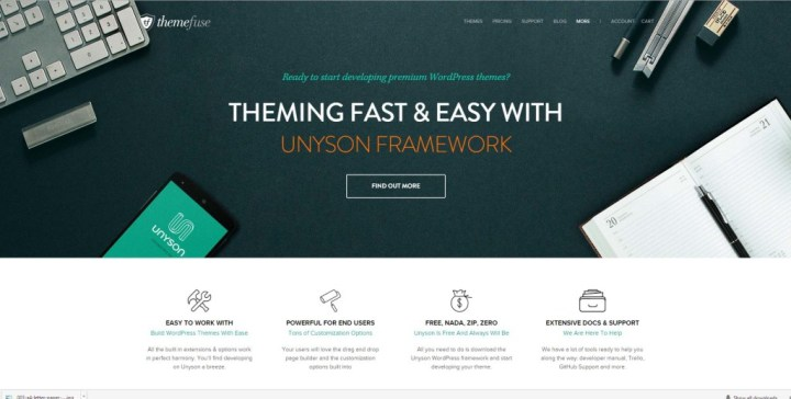 unyson_wordpress_framework