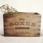 Rustic Crates and Boxes Design Mockup
