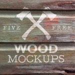 Free Weathered Logo Mockup Textures