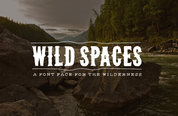 western_font_wilderness_wild_spaces