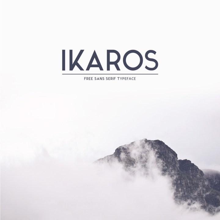 Ikaros Sans Serif Typeface