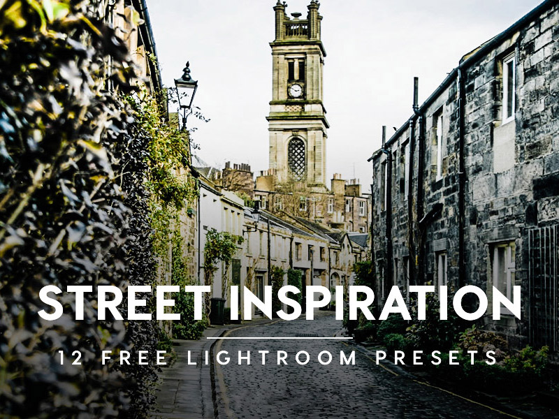 Street Inspiration Lightroom Presets