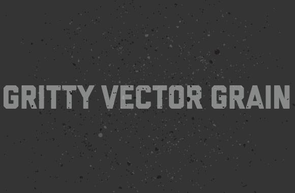 Gritty Vector Grain Texture