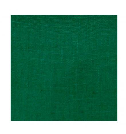rideau sur mesure en lin vert thevenon