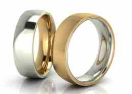 InsideOut Gelbgold Silber seitliche Nut