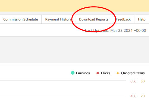 Download Reports to Sort Fee-Earnings, Fee-Orders and Returns in Excel