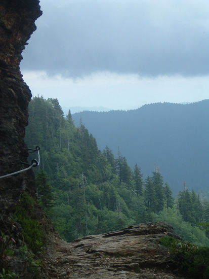 Alum Cave Trail, Newfound Gap Road, Tennessee - Under the Great Smoky Mountains – The Underground World of Caves