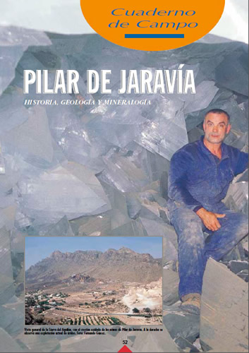 Cuaderno de Campo De Jaravia Historia, Geologia y Mineralogia (Jaravia Field Notebook History, Geology and Mineralogy)