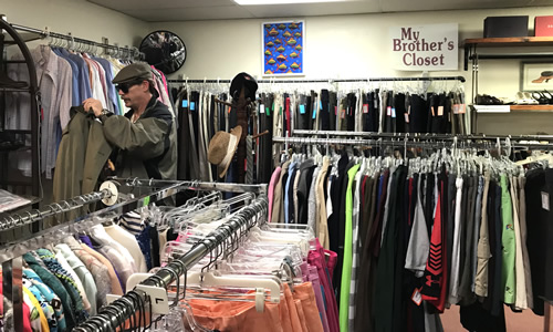 Cliff has found hats, golf clothes and that raincoat. - My Sister's Closet Consignment Store – Hilton Head Island – design42
