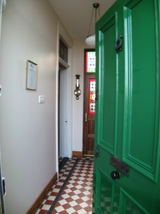 Charming entrance to Ardaghmore Guest House