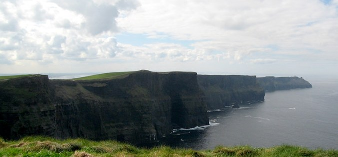 The Cliffs of Moher (The Cliffs of Insanity)