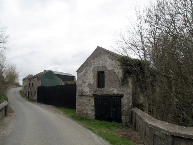 Empty buildings, somewhere between Dublin and Dungarvan, north of Thomastown