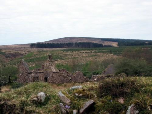 Abandoned House, Knockmealdown Mountains, Ireland