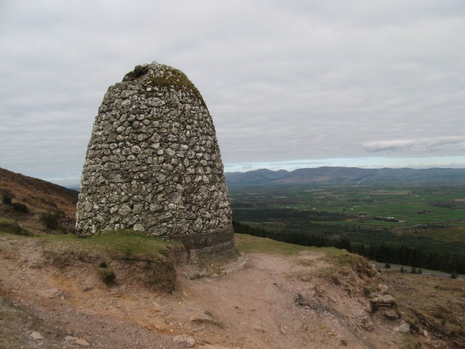 Grubb's Grave, an odd beehive-shaped structure of rubble stone