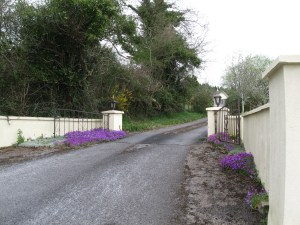 Entrance to Hollymount House, Cahir, County Tipperary
