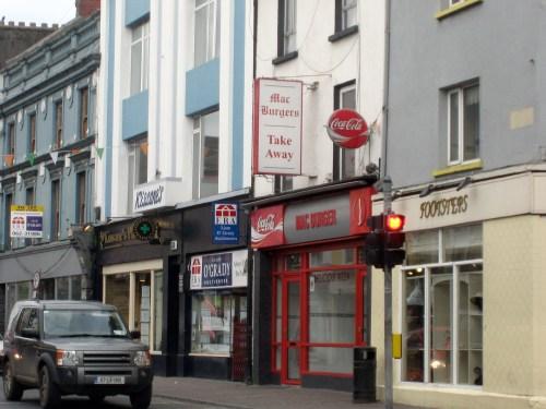 Mac Burgers Take Away, Tipperary, Ireland