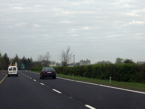 Bunratty Castle from the N18 west of Limerick, Ireland