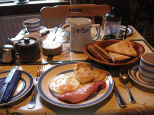 Breakfast in Doolin at Craggy Island B&B