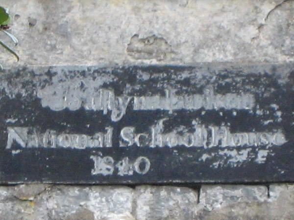 Bally something National School House 1840, Burren, Ireland