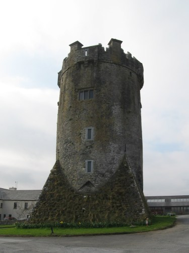 Newtown Castle at The Burren College of Art , Burren, Townland of Newton, Parish of Drumcreehy, near Ballyvaughan, County Clare, Ireland