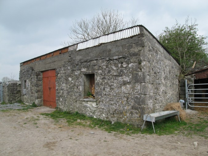 Outbuildings, farm near Ardrahan, County Galway