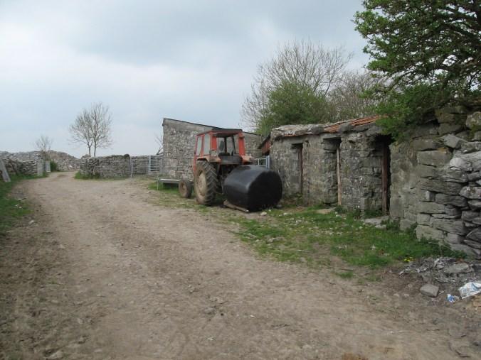 Outbuildings, farm near Ardrahan, County Galway