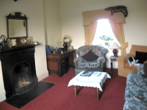 The sitting room, The Harbour Masters House, Shannon Harbour, County Offaly