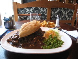 Guinness Pie at a restaurant in Ballycastle - Not what I was expecting.
