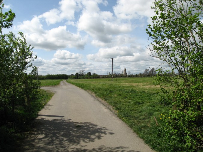 The Wonderful Barn can be seen from Celbridge Road near Leixlip