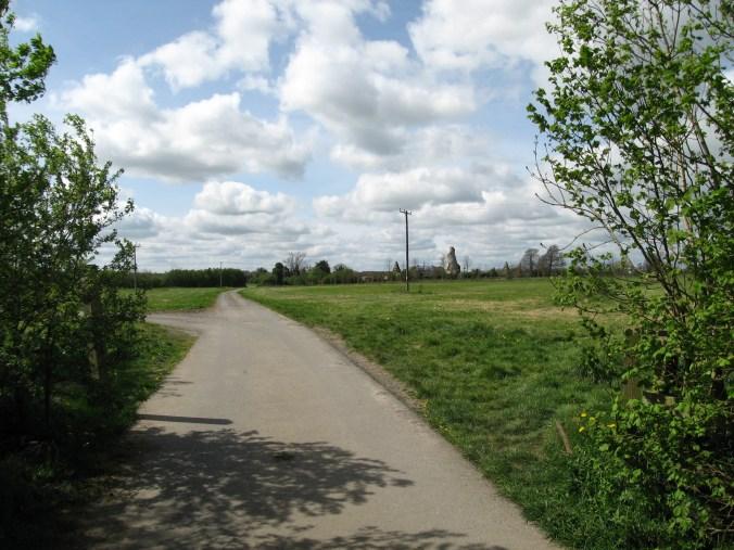 The Wonderful Barn can be seen from Celbridge Road near Leixlip