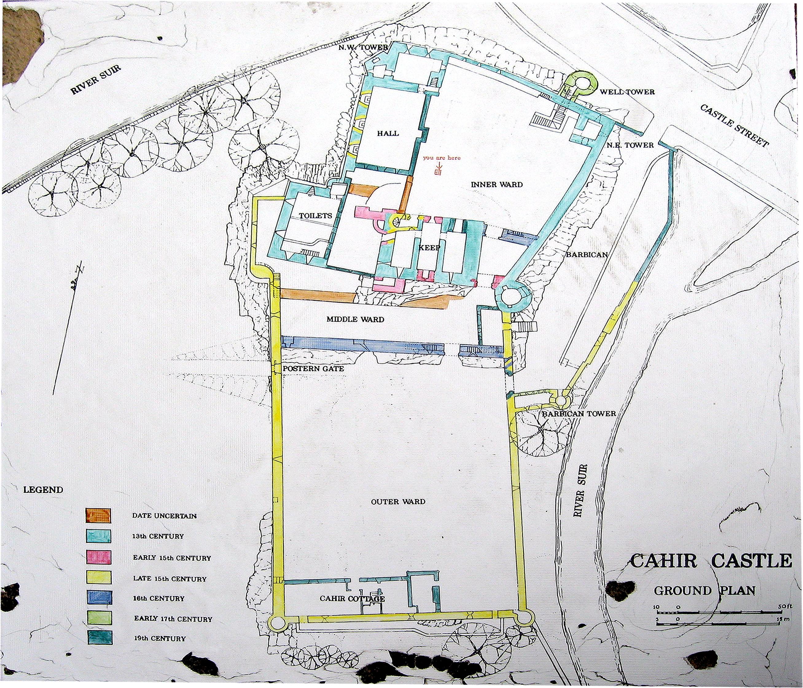 Cahir Castle - Ireland