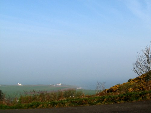 Farms right on the Antrim Coast