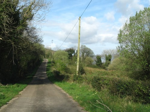 Small Road near Lower Lough Erne, Ireland