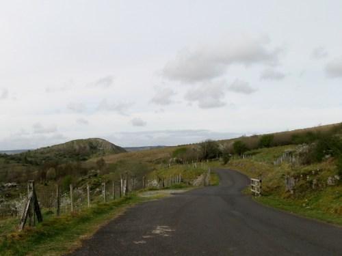 Road somewhere around Florencecourt, Enniskillen, County Fermanagh, Ireland