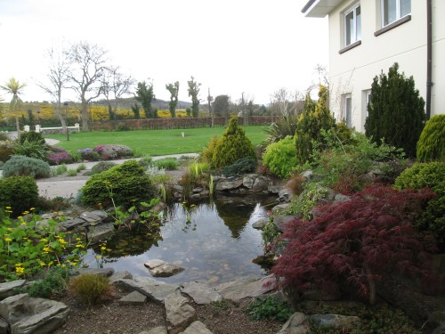 Beautiful Landscaping at Watch Tower House, Ireland's Branch Office