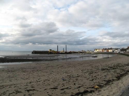 Skerries Harbor from Harbour Road, County Dublin