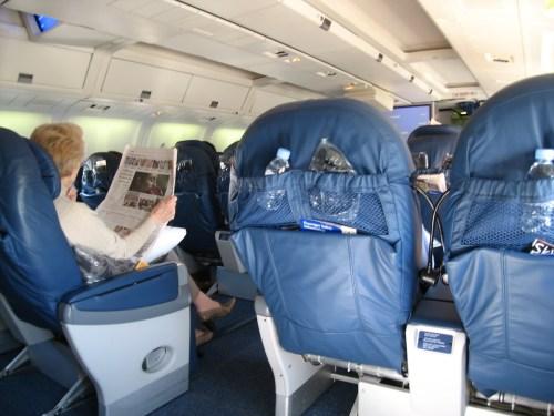 Delta First Class from Dublin to Atlanta