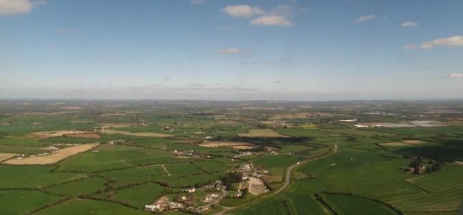 Flying Home from Dublin